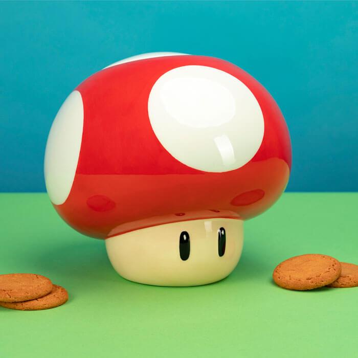 Jarre à Biscuits Super Mushroom Mario
