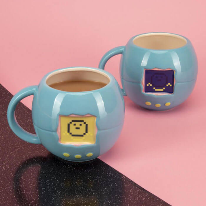 Tasse Thermosensible Tamagotchi