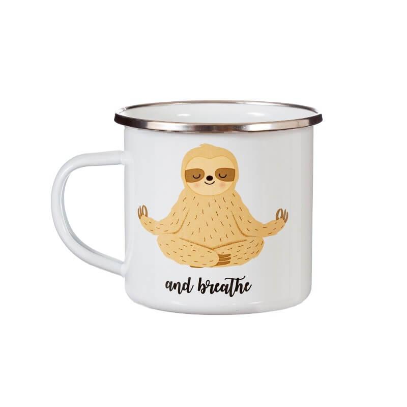 Sloth And Breathe Mug