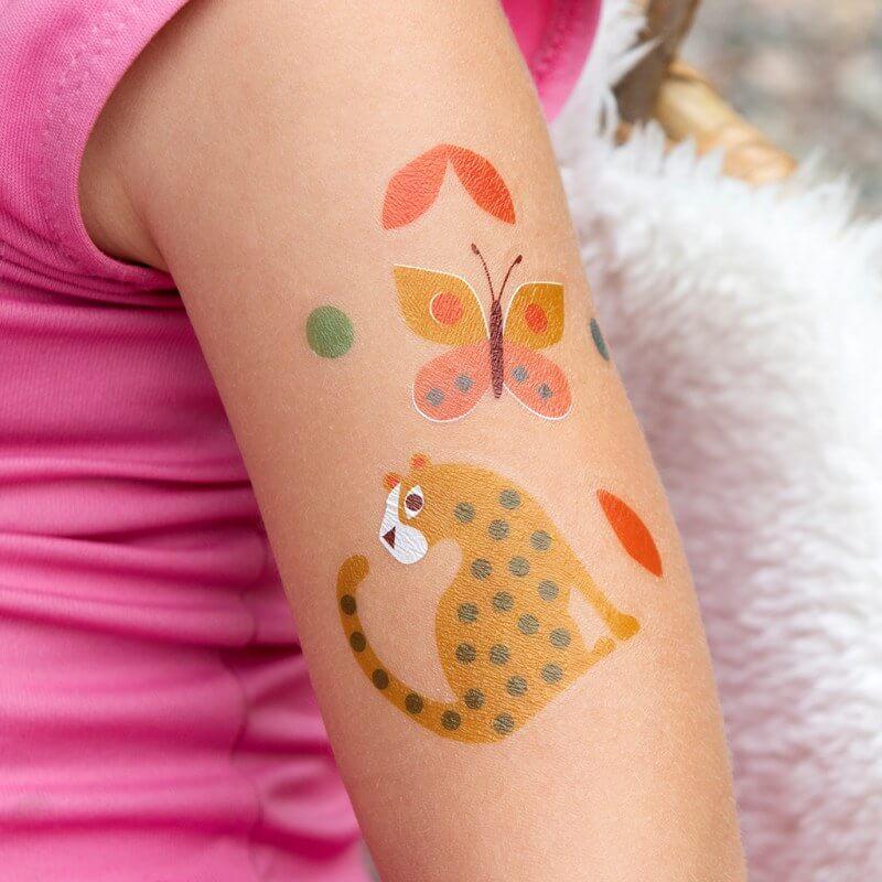 Wild Wonders Temporary Tattoos