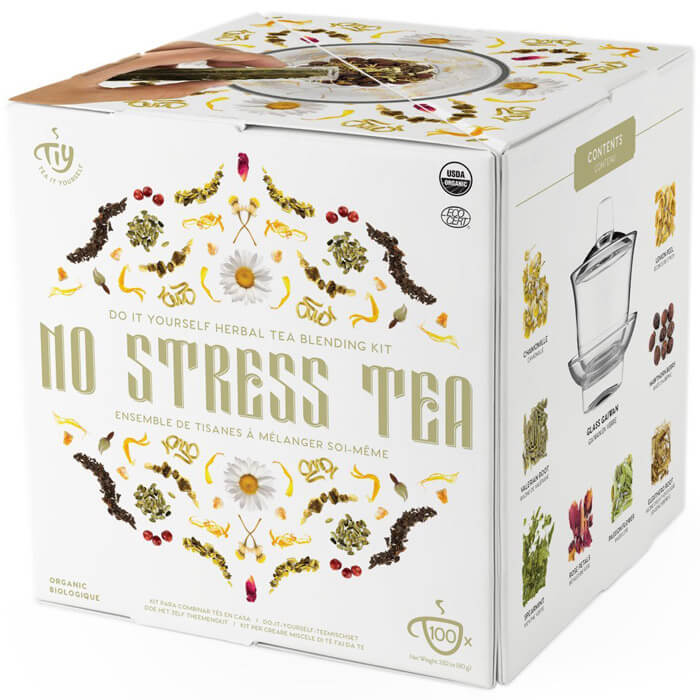 No Stress Herbal Tea Blending Kit