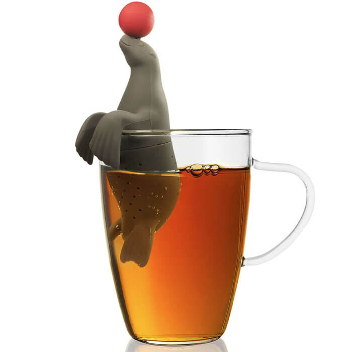 Sea Lion Tea Infuser