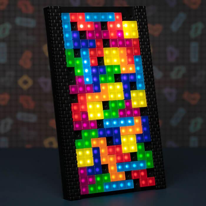 Tetris Tetrimino Lampe