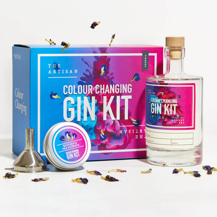 The Artisan Colour Changing Gin Kit