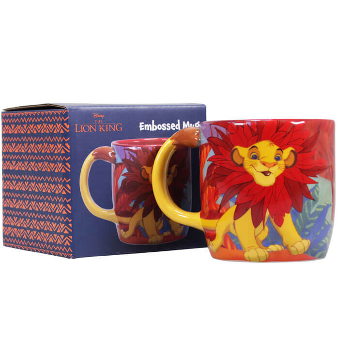 The Lion King Shaped Mug