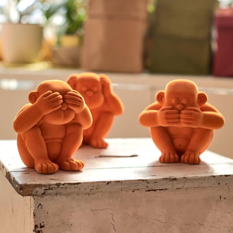 Die drei weisen Affen