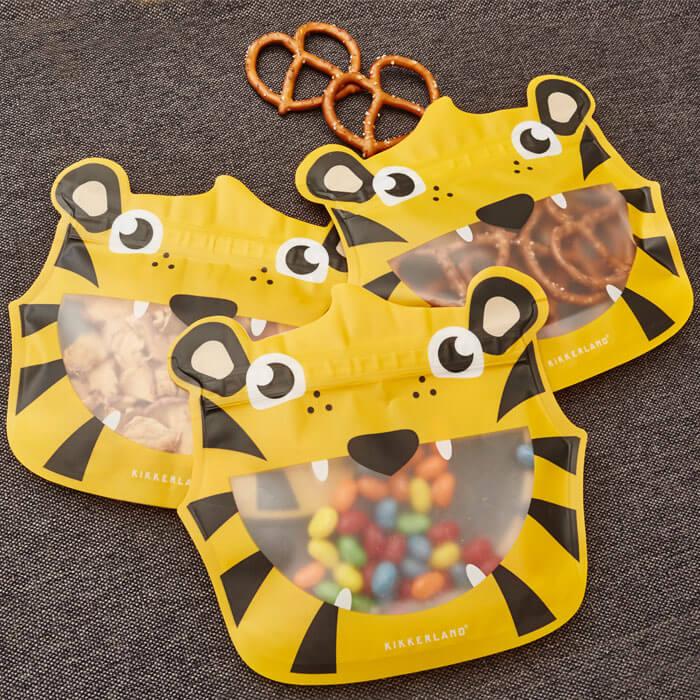 Animal Zipper Bag Set