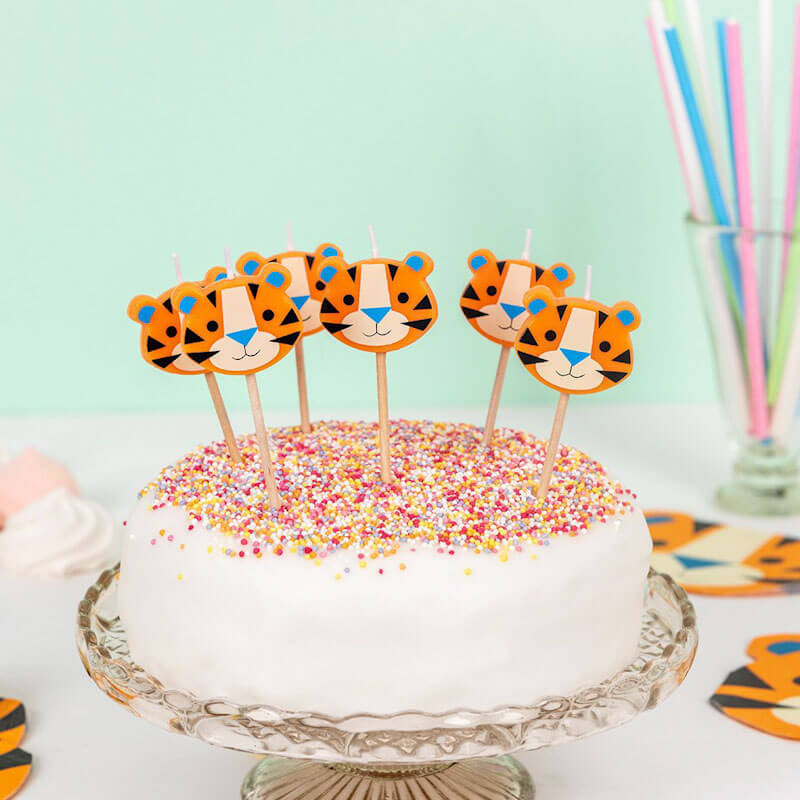 Ziggy The Tiger Party Candles