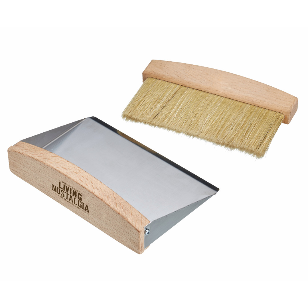 Tabletop Dustpan & Brush