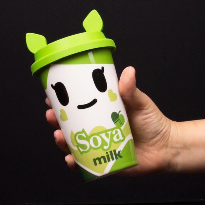 Bicchiere per Latte di Soia Tokidoki