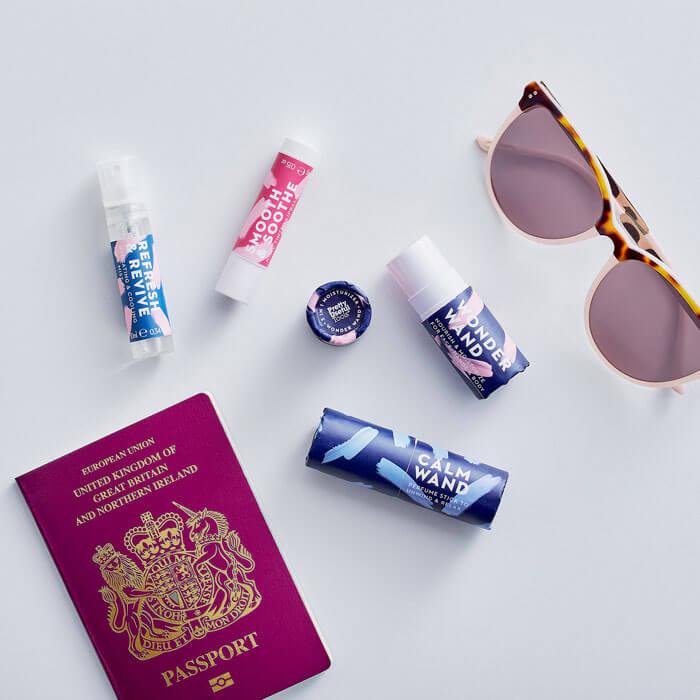 Travel Emergency Kit Blue Haze
