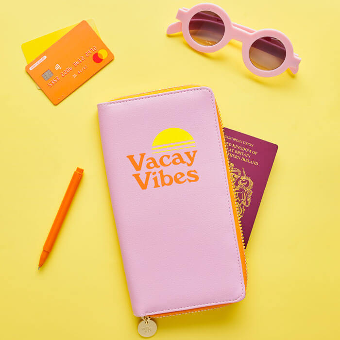 Travel Wallet Vacay Vibes