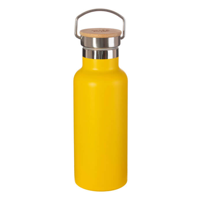 Mustard Yellow Water Bottle