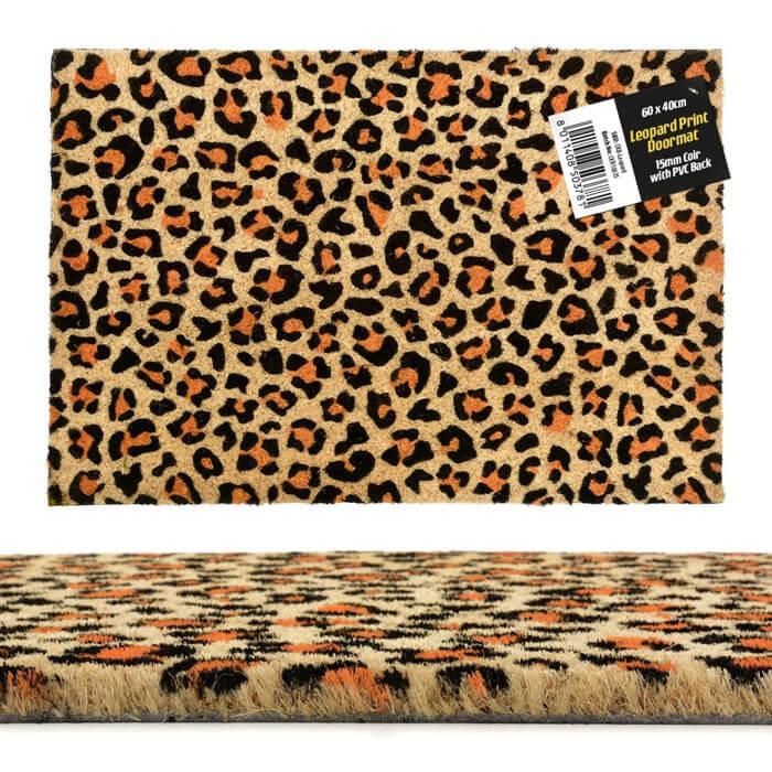 Leopard Doormat