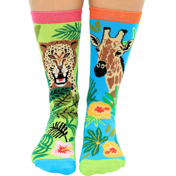 Jungle Fever Socks Gift Set