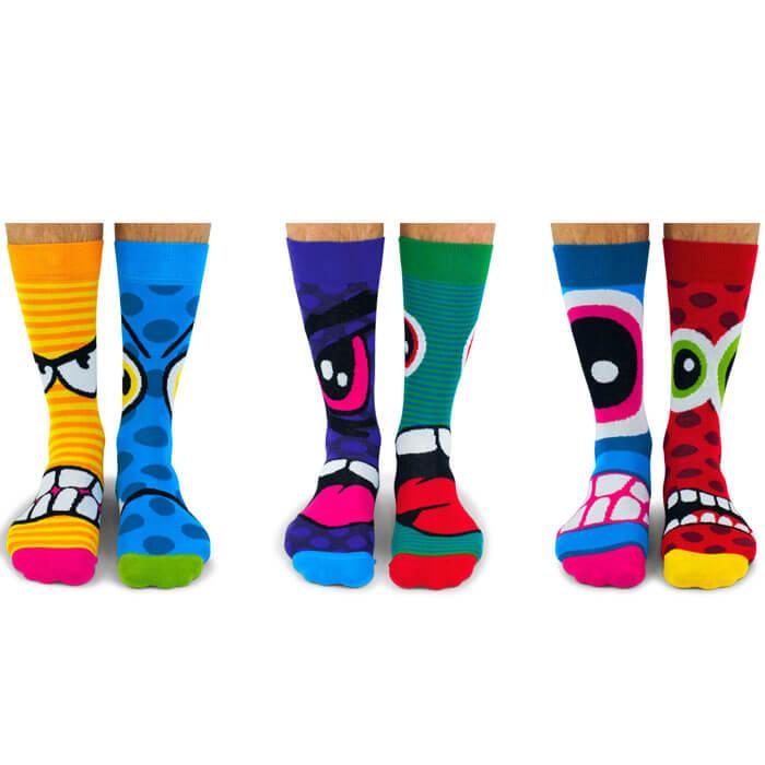 United Oddsocks Stressheads Socks Gift Set
