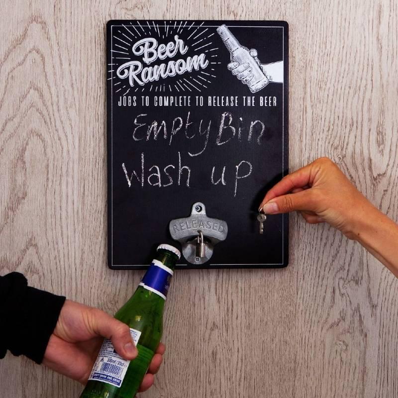 Beer Ransom Memo Board
