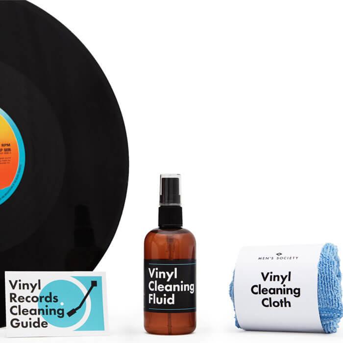 Vinyl Reinigungs-Set
