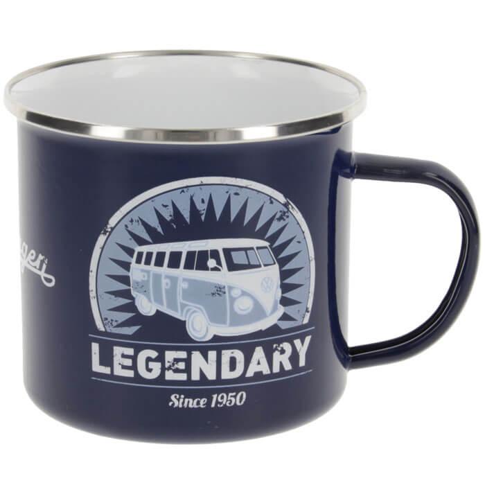 VW T1 Enamel Mug 500ml