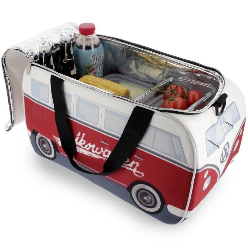 VW T1 Cooler Bag Red-White