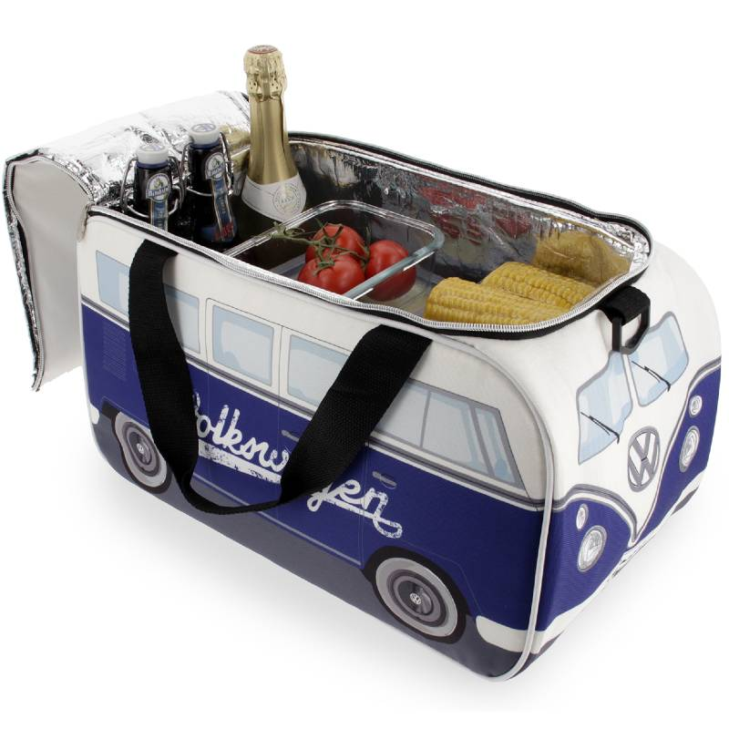 VW T1 Cooler Bag Blue White