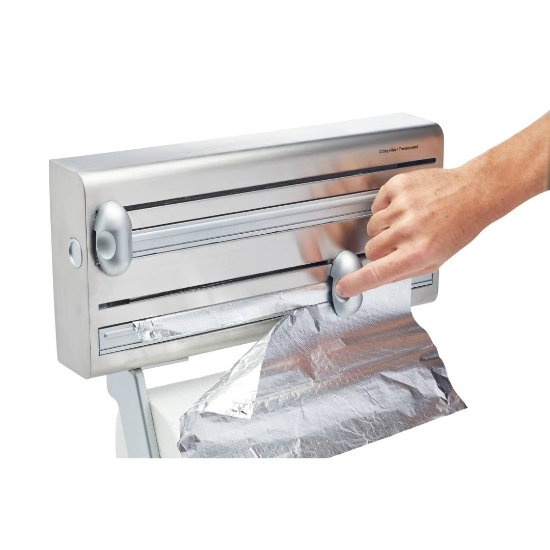 Cling Film, Foil and Kitchen Towel Dispenser