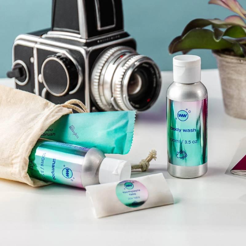 Waterless Wash Eco Hygiene Travel Kit