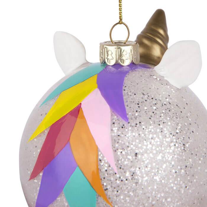 Pallina di Natale Unicorno