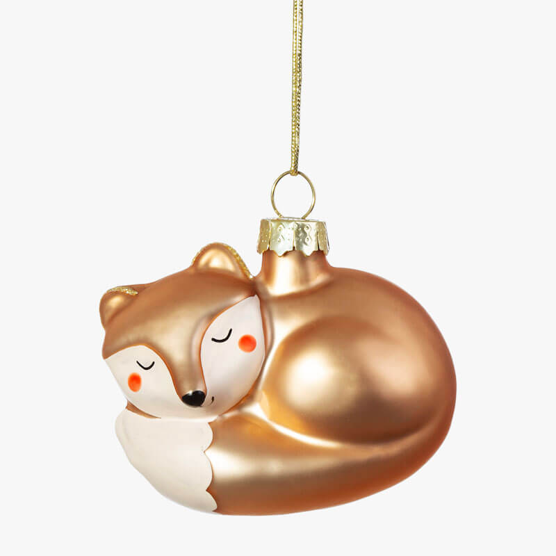 Fox Shaped Bauble