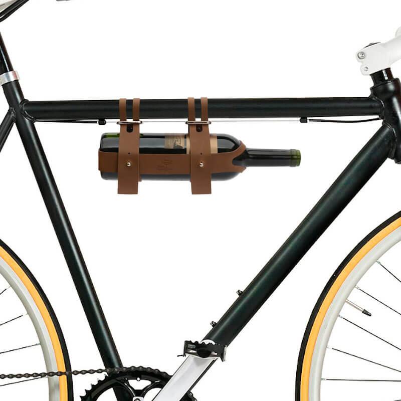 Portabottiglia in Pelle per Biciclette