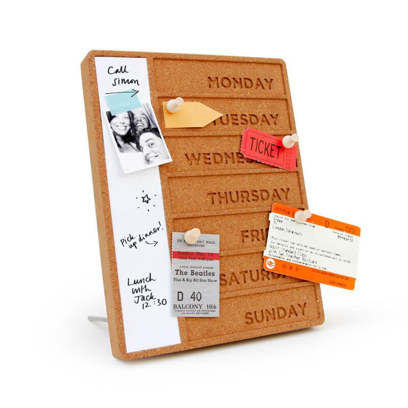 Cork Weekday Planner