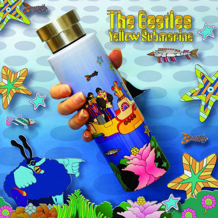 The Beatles Yellow Submarine Flask