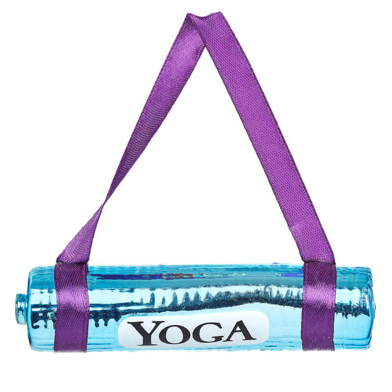 Yoga Mat Shaped Bauble