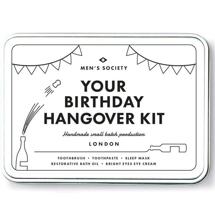 Geburtstagsparty Hangover Set