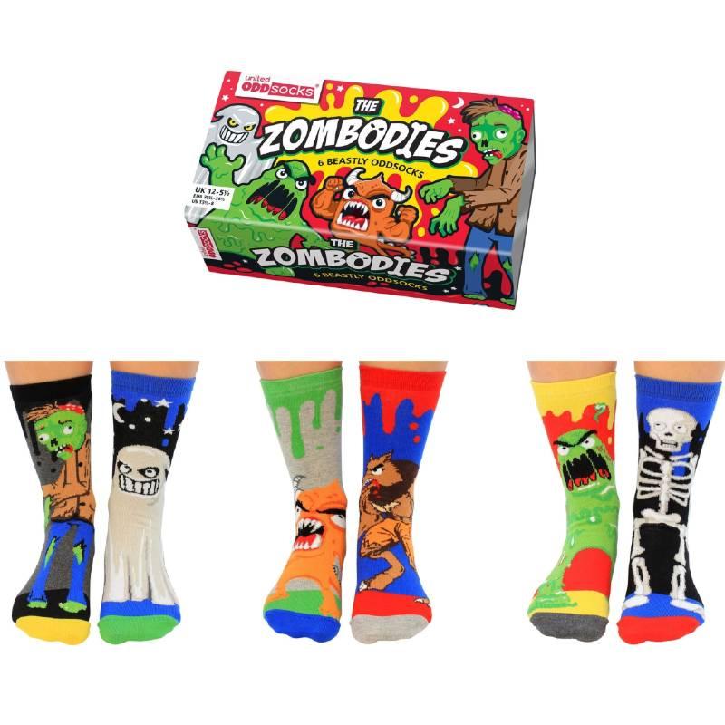 Zombodies Socks Gift Set