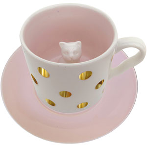 Spotty Cat Tasse