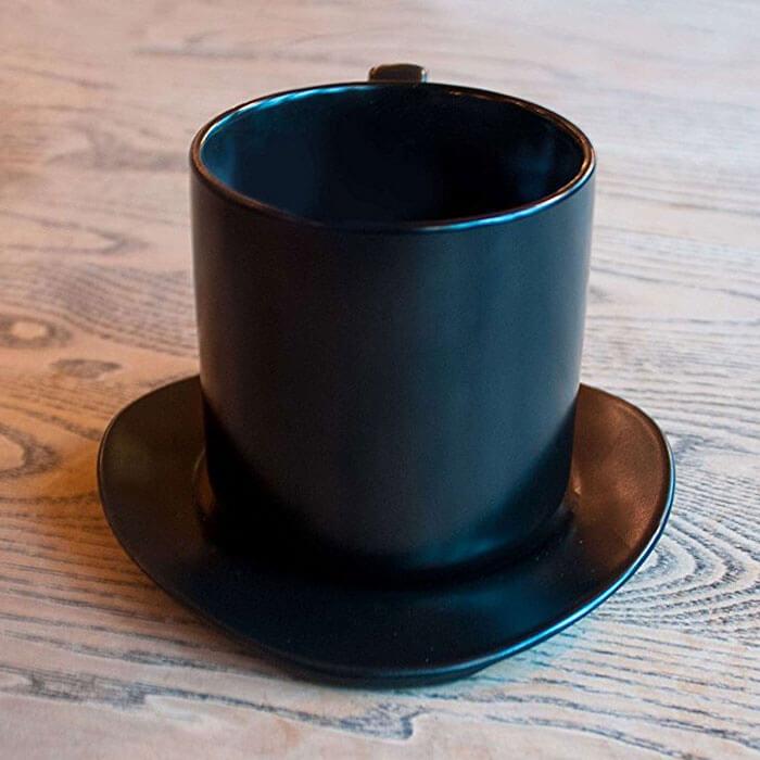 Tasse & Soucoupe Chapeau Haut de Forme