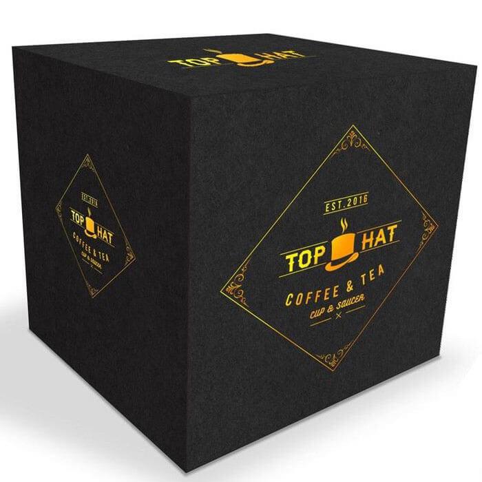 Top Hat Cup & Saucer