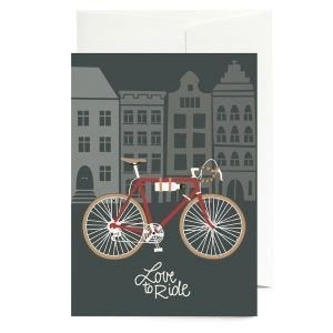 Greeting Card Love To Ride