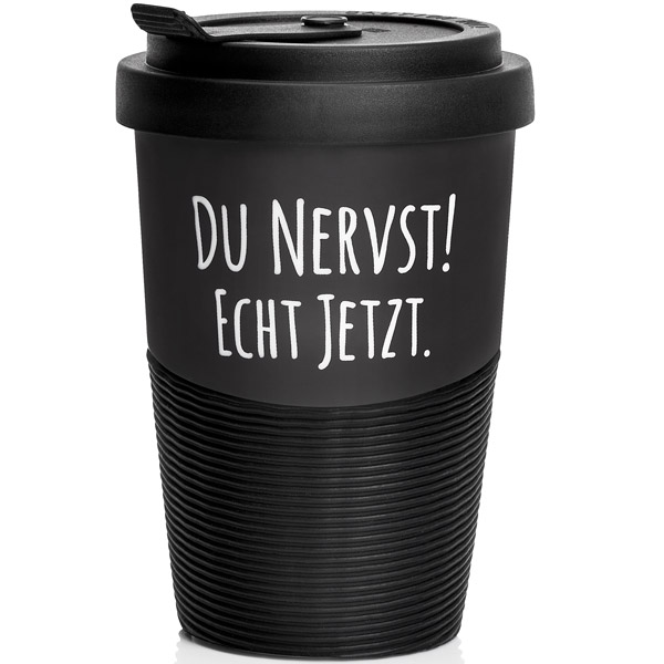 Travel-Mug - Du Nervst!