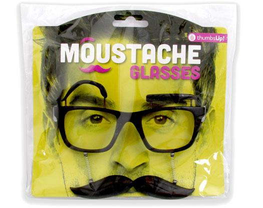 Schnurrbart Brille