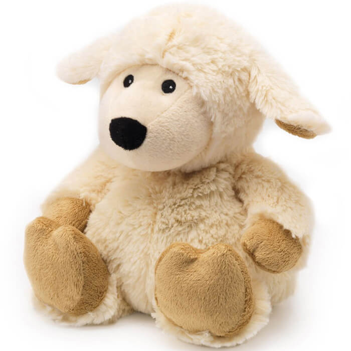 Warmies Cozy Plush Sheep Cream