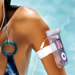 iSwimm - Waterproof Carry Case for MP3 Player and iPhone