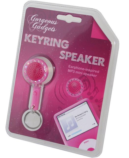Bling Bling Keyring SpeakerKeyring Speaker