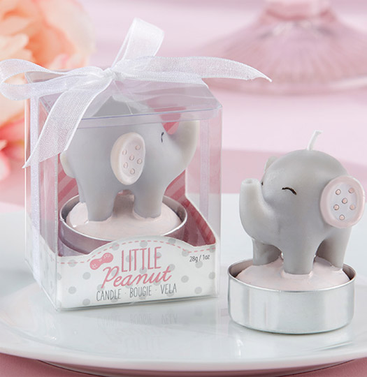 Little Peanut Elephant-Shaped Candle