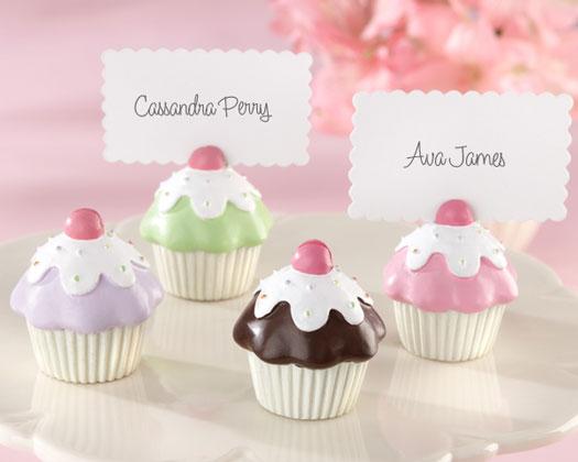 Tischkartenhalter Cupcakes 4er Set