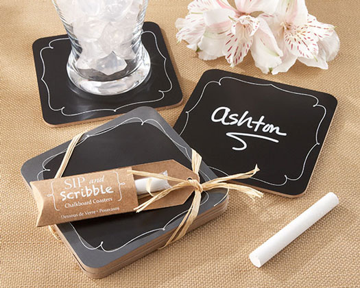 Chalkboard Set of 4 Coasters