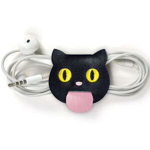 Tongue Ties Cord Keepers Cats