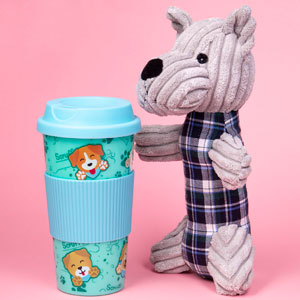 Scruffs & Co Travel Mug & Teddy Set