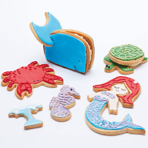 Sea Life Cookie Cutter Set